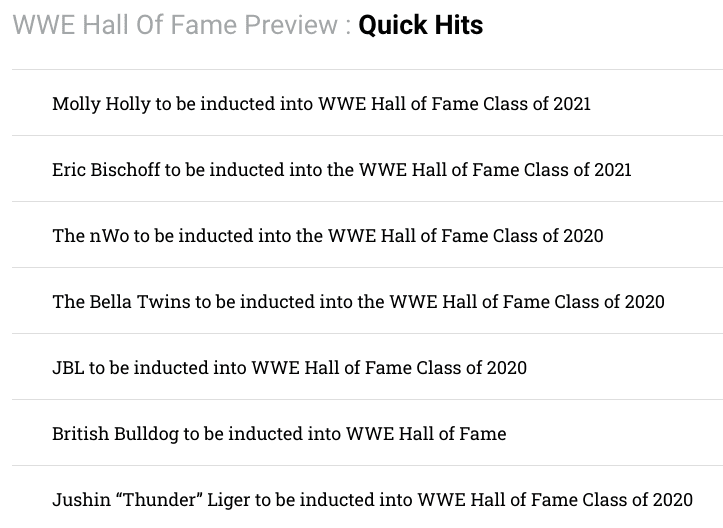 Batista Removed From WWE Hall Of Fame Class Of 2020 2021 Preview