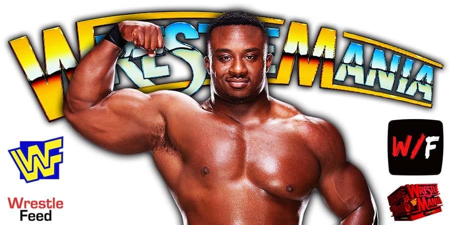 Big E WWE WrestleMania 37 WrestleFeed App