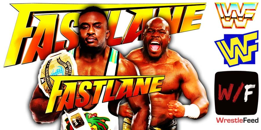 Big E defeats Apollo Crews at Fastlane 2021 WrestleFeed App