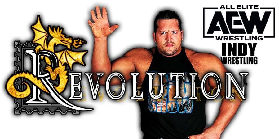 Big Show Paul Wight AEW Revolution 2021 PPV