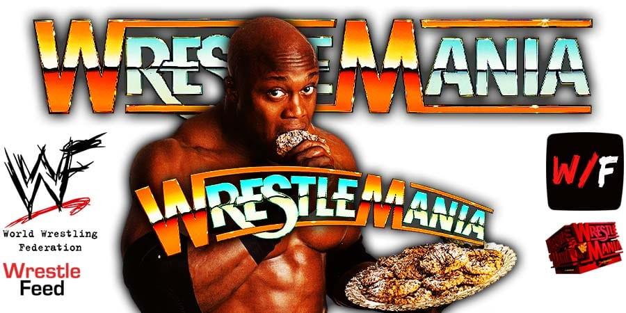Bobby Lashley WWE WrestleMania 37 WrestleFeed App