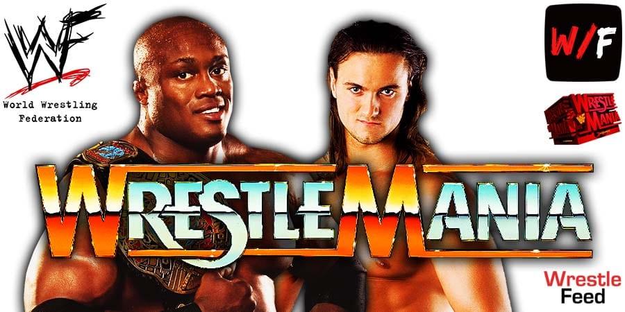 Bobby Lashley vs Drew McIntyre WrestleMania 37 WrestleFeed App