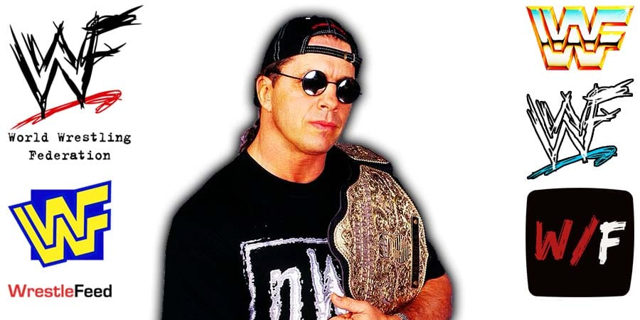 Bret Hart nWo WCW World Heavyweight Champion Article Pic 7 WrestleFeed App