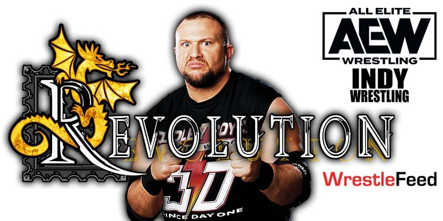Bubba Ray Dudley AEW Revolution 2021 WrestleFeed App