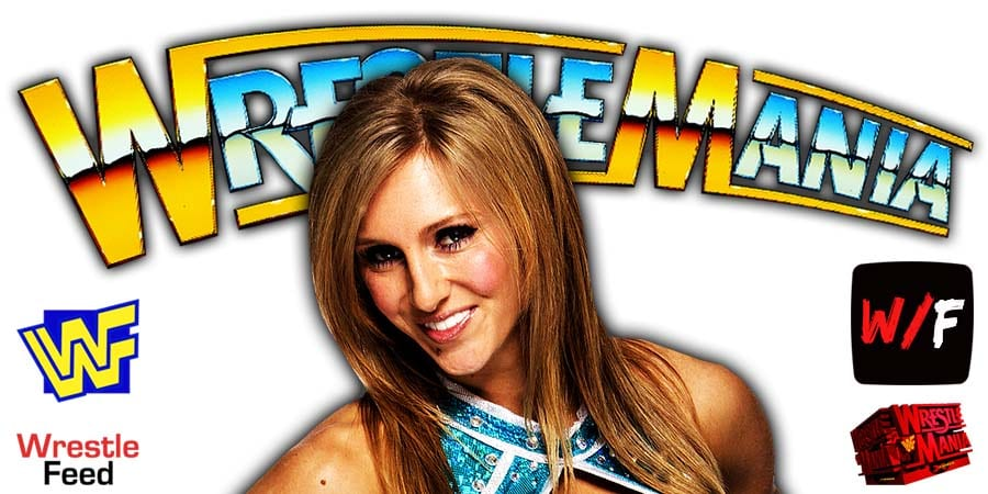 Charlotte Flair WWE WrestleMania 37 WrestleFeed App