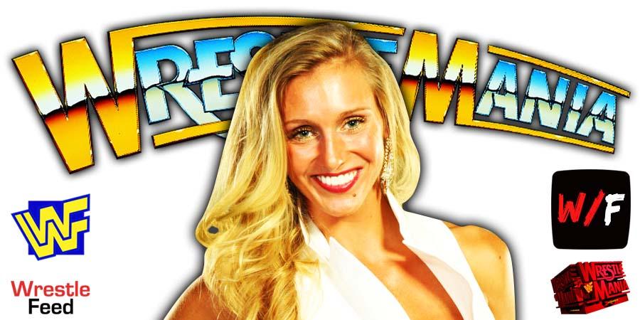Charlotte Flair WrestleMania 37 WrestleFeed App
