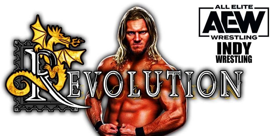 Chris Jericho Loses At AEW Revolution 2021