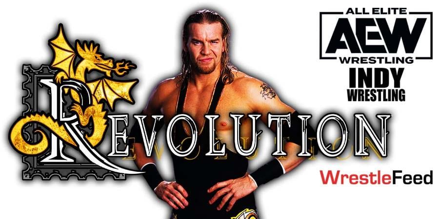 Christian All Elite Wrestling Debut AEW Revolution 2021 WrestleFeed App