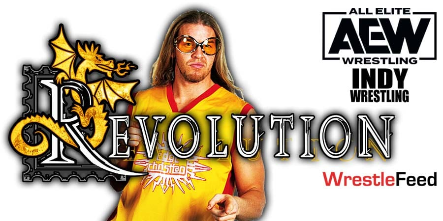Christian Cage AEW Debut Revolution 2021 WrestleFeed App