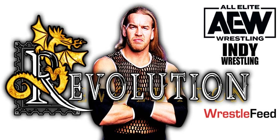 Christian Cage Mystery Signing At AEW Revolution 2021 WrestleFeed App