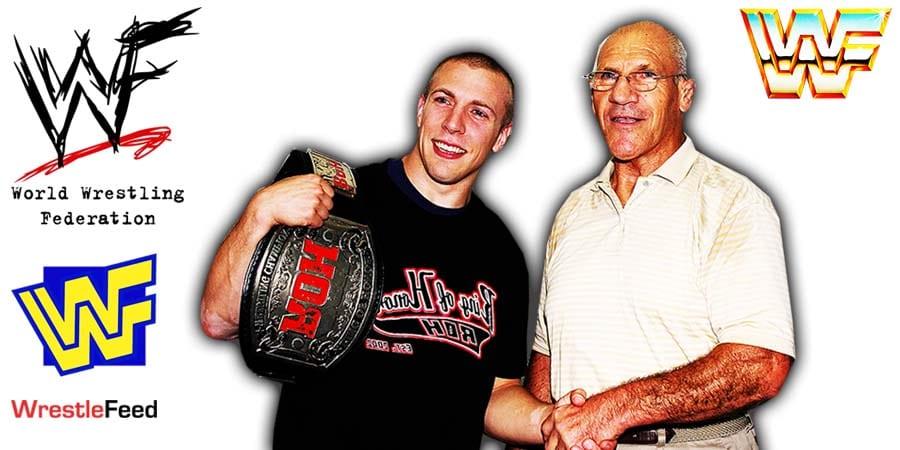 Daniel Bryan - Bryan Danielson - Bruno Sammartino Article Pic 4 WrestleFeed App