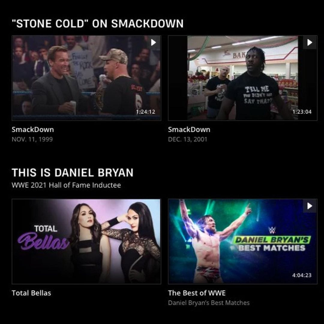 Daniel Bryan Listed As WWE Hall Of Fame Class Of 2021 Inductee On The WWE Network