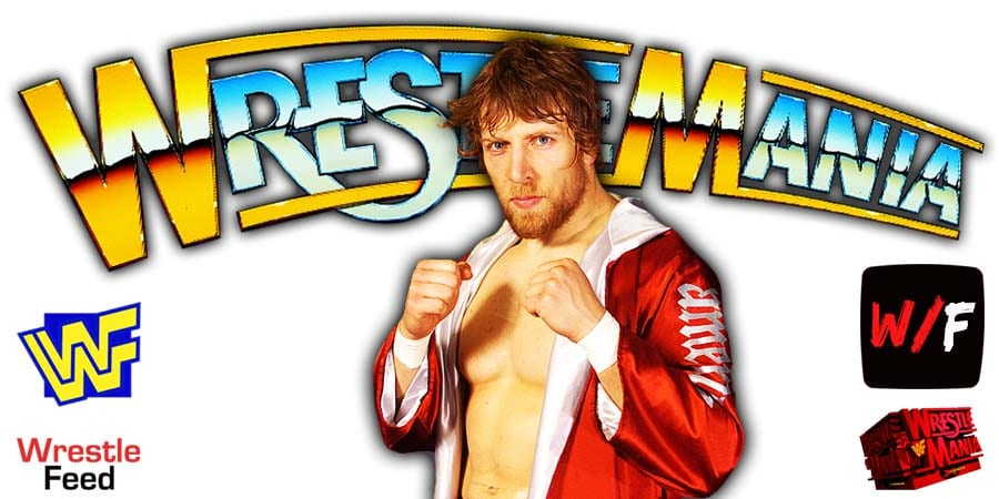 Daniel Bryan WrestleMania 37 WrestleFeed App