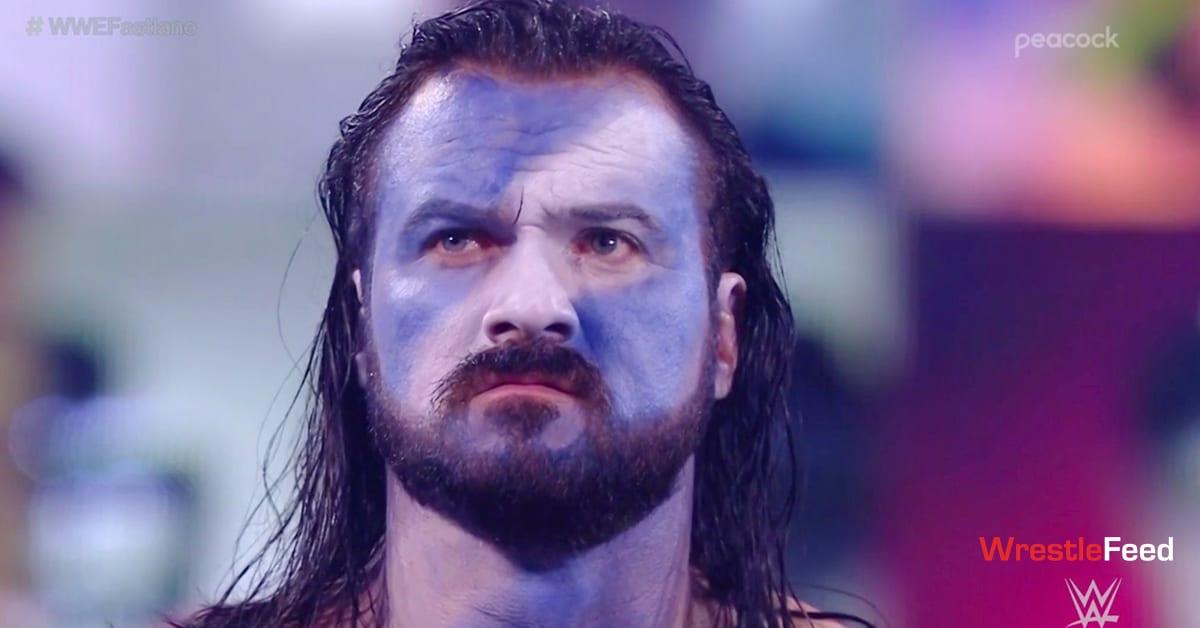 Drew McIntyre Braveheart Face Paint WWE Fastlane 2021 WrestleFeed App