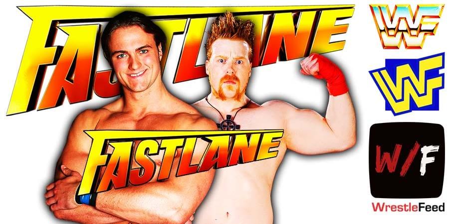 Drew McIntyre defeats Sheamus at Fastlane 2021 WrestleFeed App