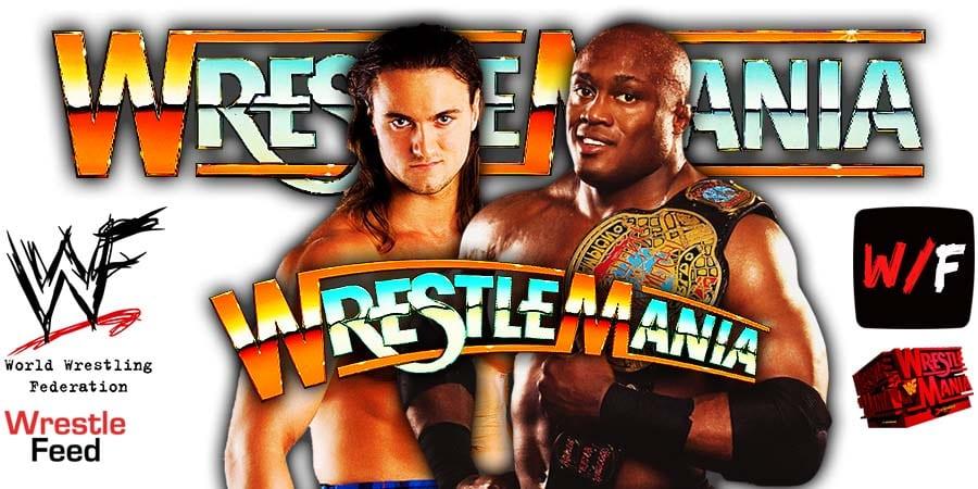 Drew McIntyre vs Bobby Lashley WrestleMania 37 WrestleFeed App