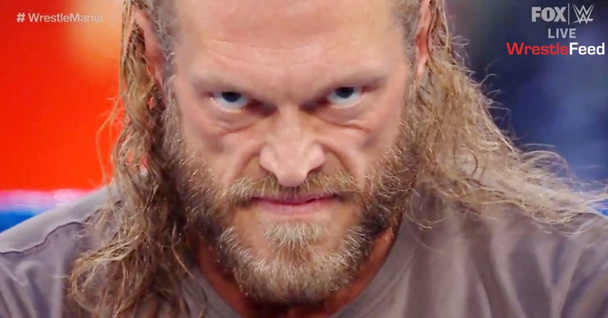 Edge Evil Look Face WWE SmackDown March 2021 WrestleFeed App