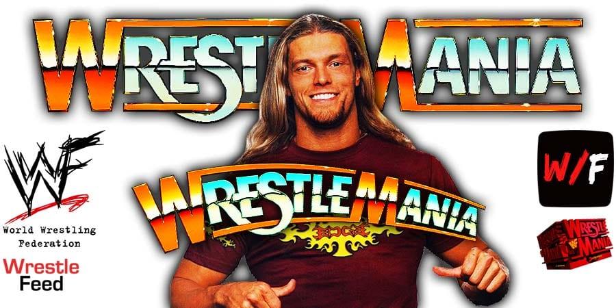 Edge WWE WrestleMania 37 WrestleFeed App
