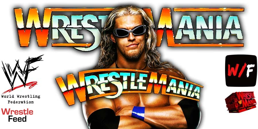 Edge WrestleMania 37 PPV WrestleFeed App