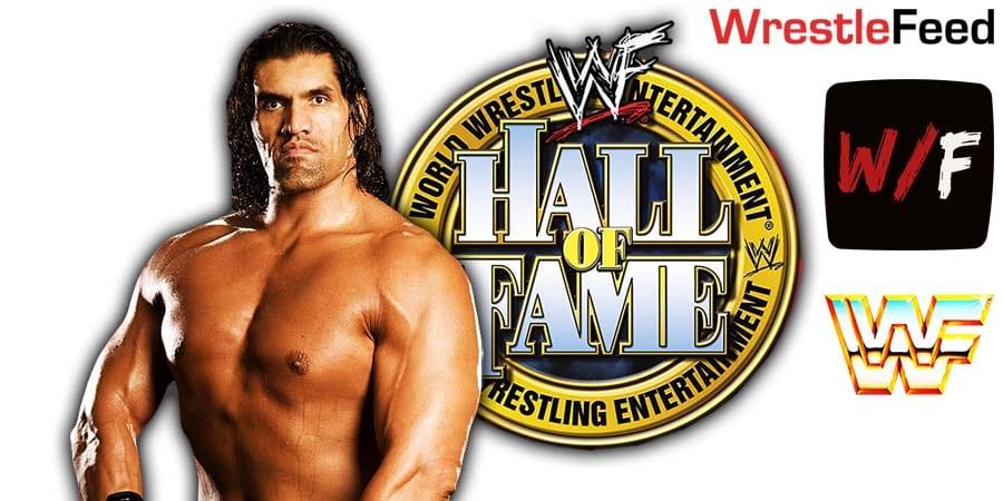 Great Khali WWE Hall Of Fame 2021 WrestleFeed App