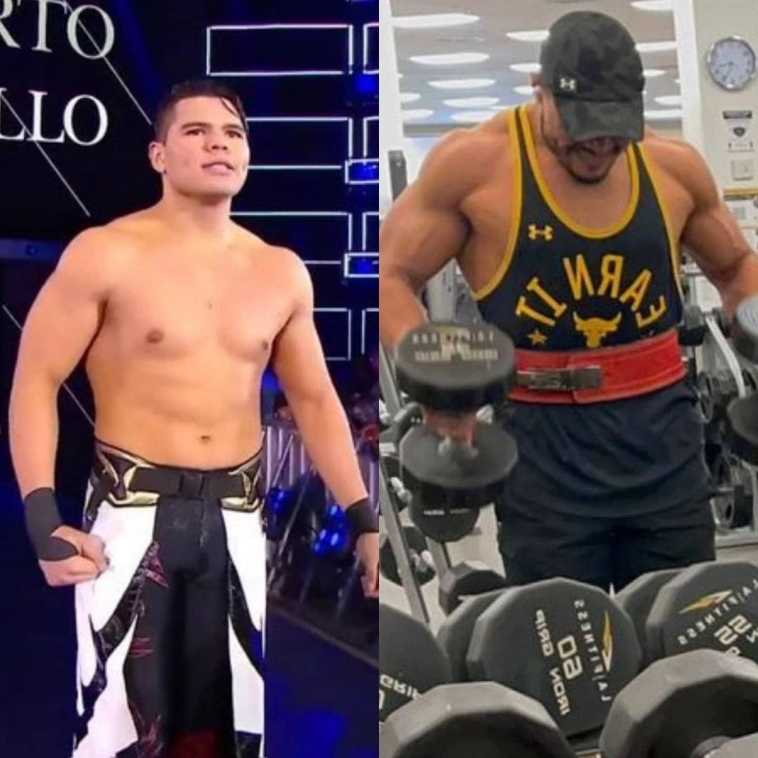 Humberto Carillo Physical Transformation Muscles Size Physique