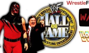 Kane WWE Hall Of Fame Class Of 2021 WrestleFeed App