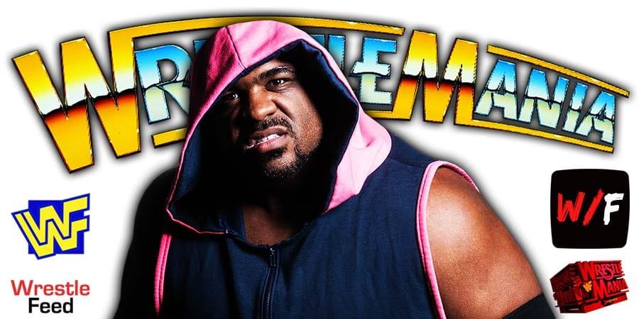 Keith Lee WrestleMania 37 WrestleFeed App
