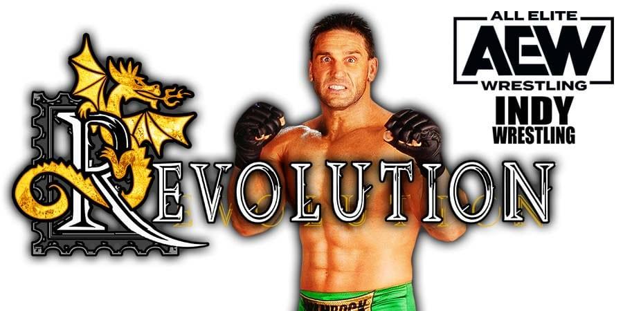 Ken Shamrock AEW Revolution 2021