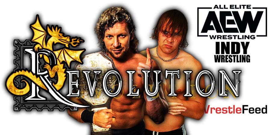 Kenny Omega defeats Jon Moxley at AEW Revolution 2021 WrestleFeed App