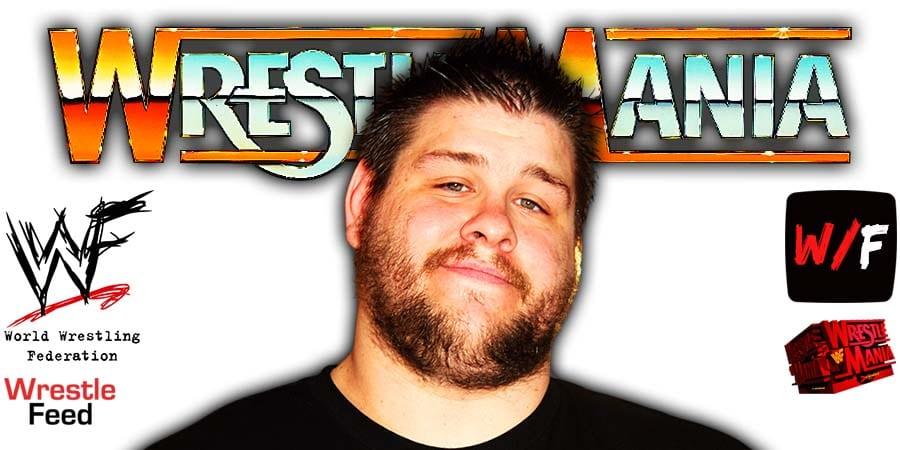 Kevin Owens WrestleMania 37 WrestleFeed App