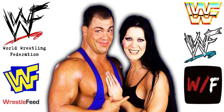 Kurt Angle with Chyna Article PIc 10 WrestleFeed App