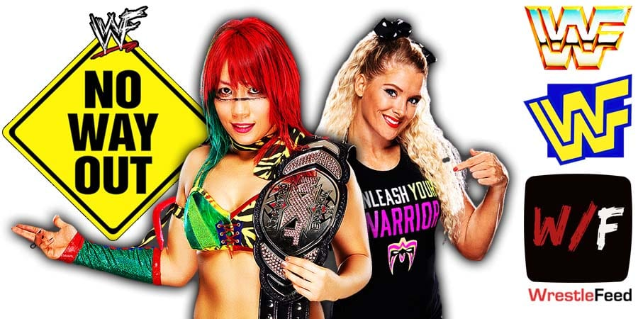Lacey Evans was scheduled to defeat Asuka at WWE Elimination Chamber 2021 to win the RAW Women's Championship WrestleFeed App