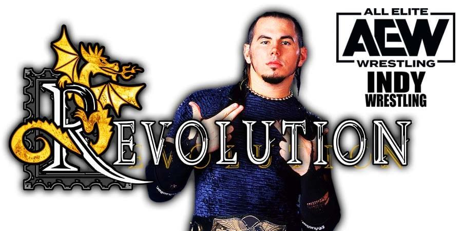 Matt Hardy Loses At AEW Revolution 2021