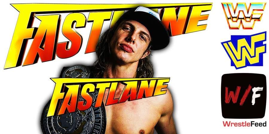 Matt Riddle Fastlane 2021 WrestleFeed App