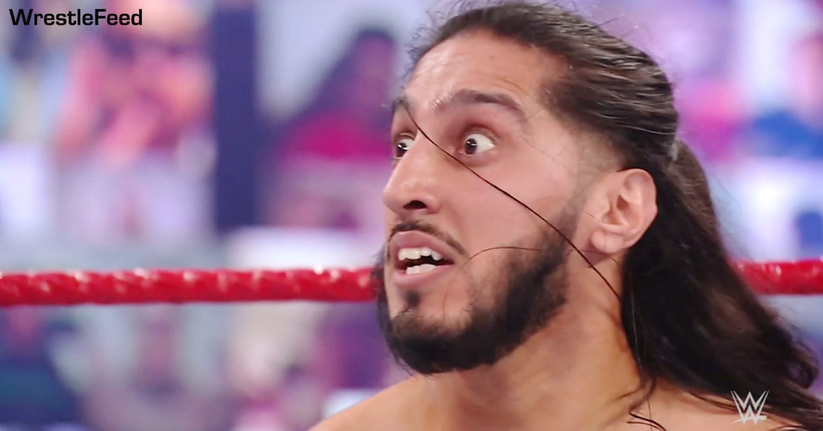 Mustafa Ali Shocked Surprised Funny Face WrestleFeed App
