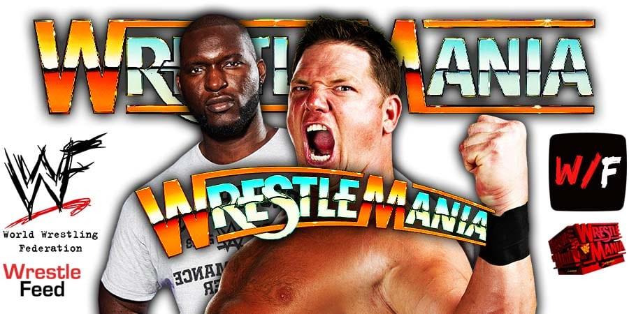 Omos AJ Styles WrestleMania 37 WrestleFeed App