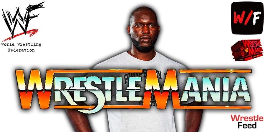 Omos WrestleMania 37 WrestleFeed App