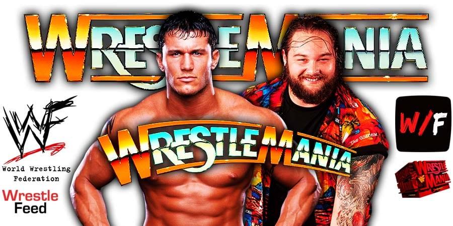 Randy Orton vs Fiend Bray Wyatt WrestleMania 37 WrestleFeed App
