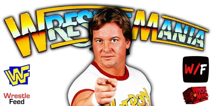 Roddy Piper WWF WrestleMania 6 WrestleFeed App