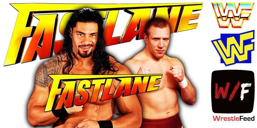 Roman Reigns Defeats Daniel Bryan At WWE Fastlane 2021 WrestleFeed App
