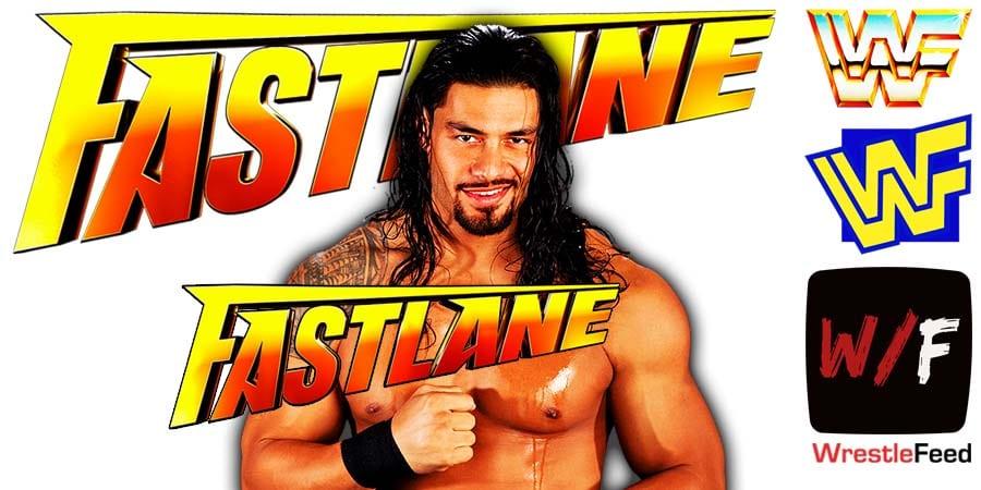 Roman Reigns FastLane 2021 WrestleFeed App