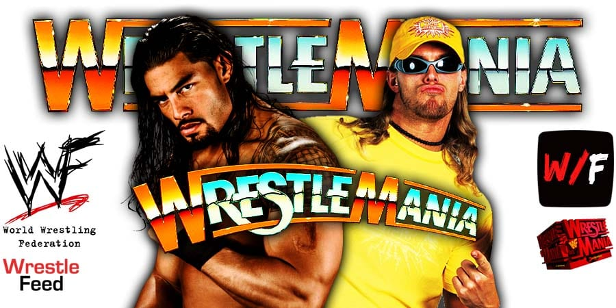 Roman Reigns vs Edge turning into a Triple Threat Match at WrestleMania 37 WrestleFeed App