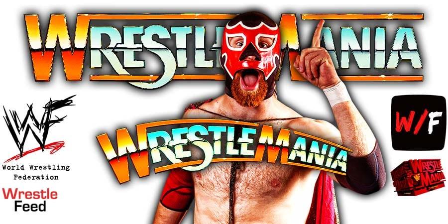 Sami Zayn WrestleMania 37 WrestleFeed App
