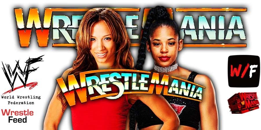 Sasha Banks vs Bianca Belair WrestleMania 37 WrestleFeed App