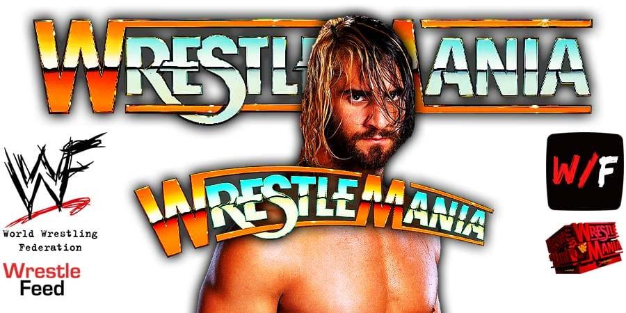 Seth Rollins WrestleMania 37 WrestleFeed App