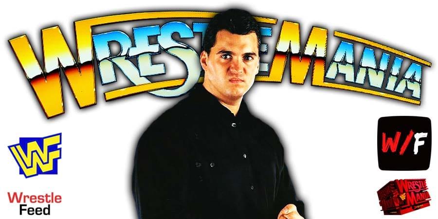 Shane McMahon WrestleMania 37 WrestleFeed App