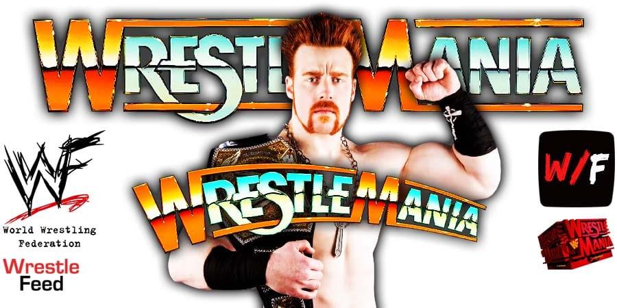 Sheamus WWE WrestleMania 37 WrestleFeed App