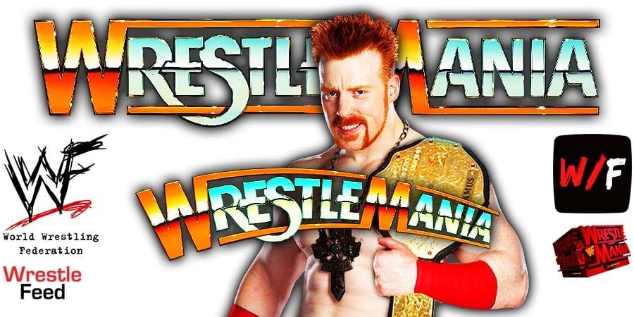 Sheamus WrestleMania 37 WrestleFeed App