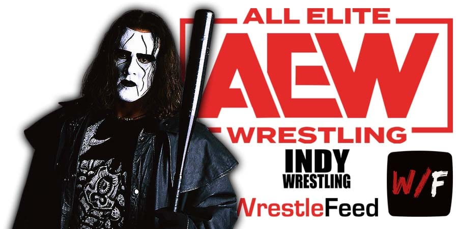 Sting AEW All Elite Wrestling Article Pic 17 WrestleFeed App