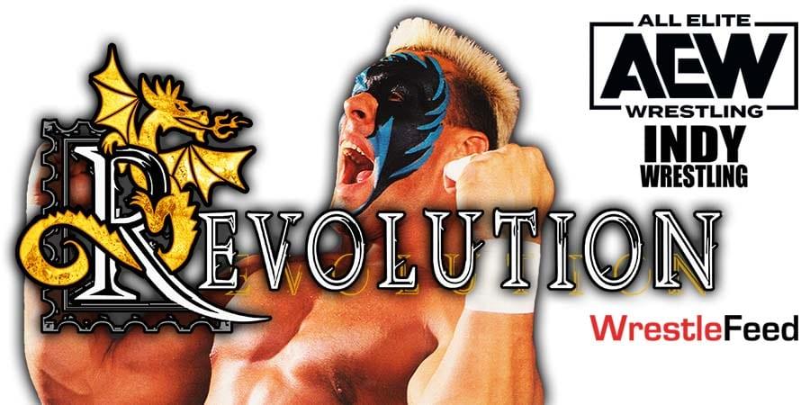 Sting AEW Revolution 2021 Match Took 12 Hours To Film WrestleFeed App
